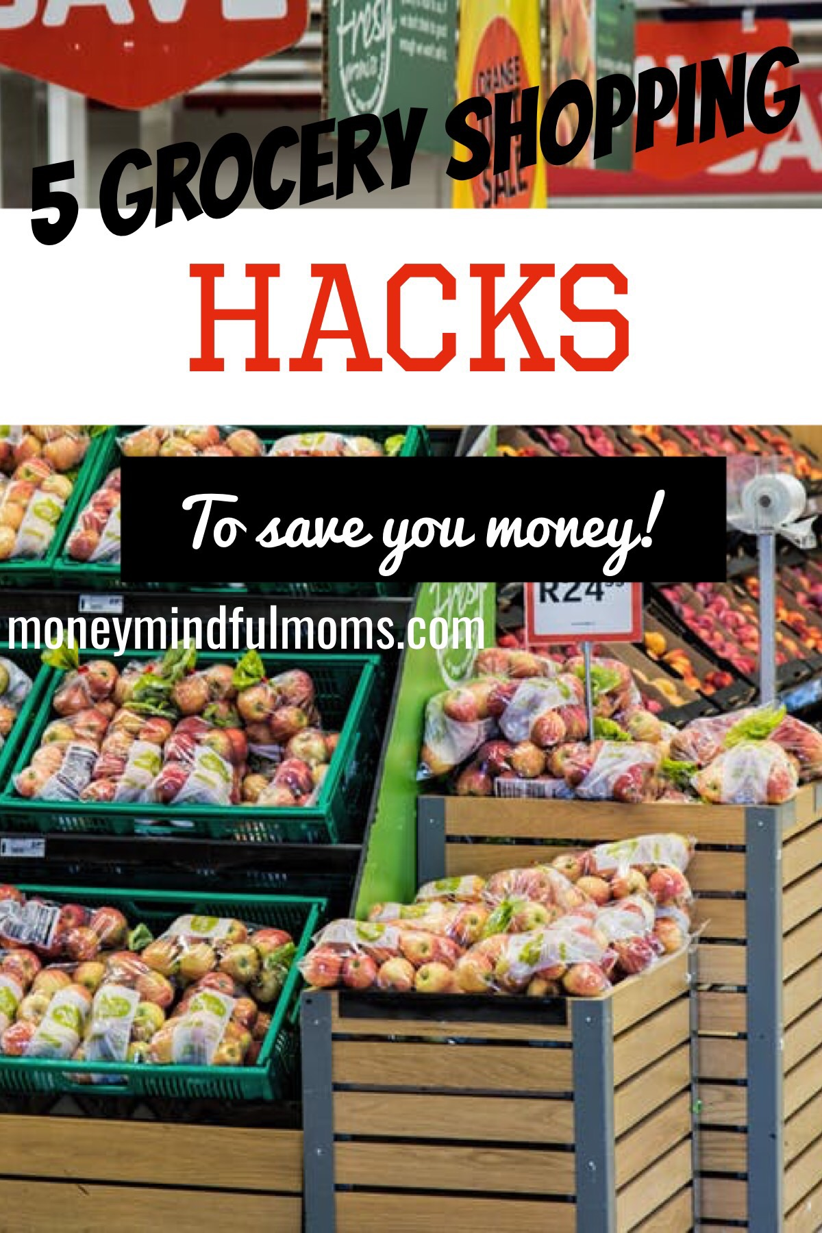 5 Grocery shopping hacks to save you money!