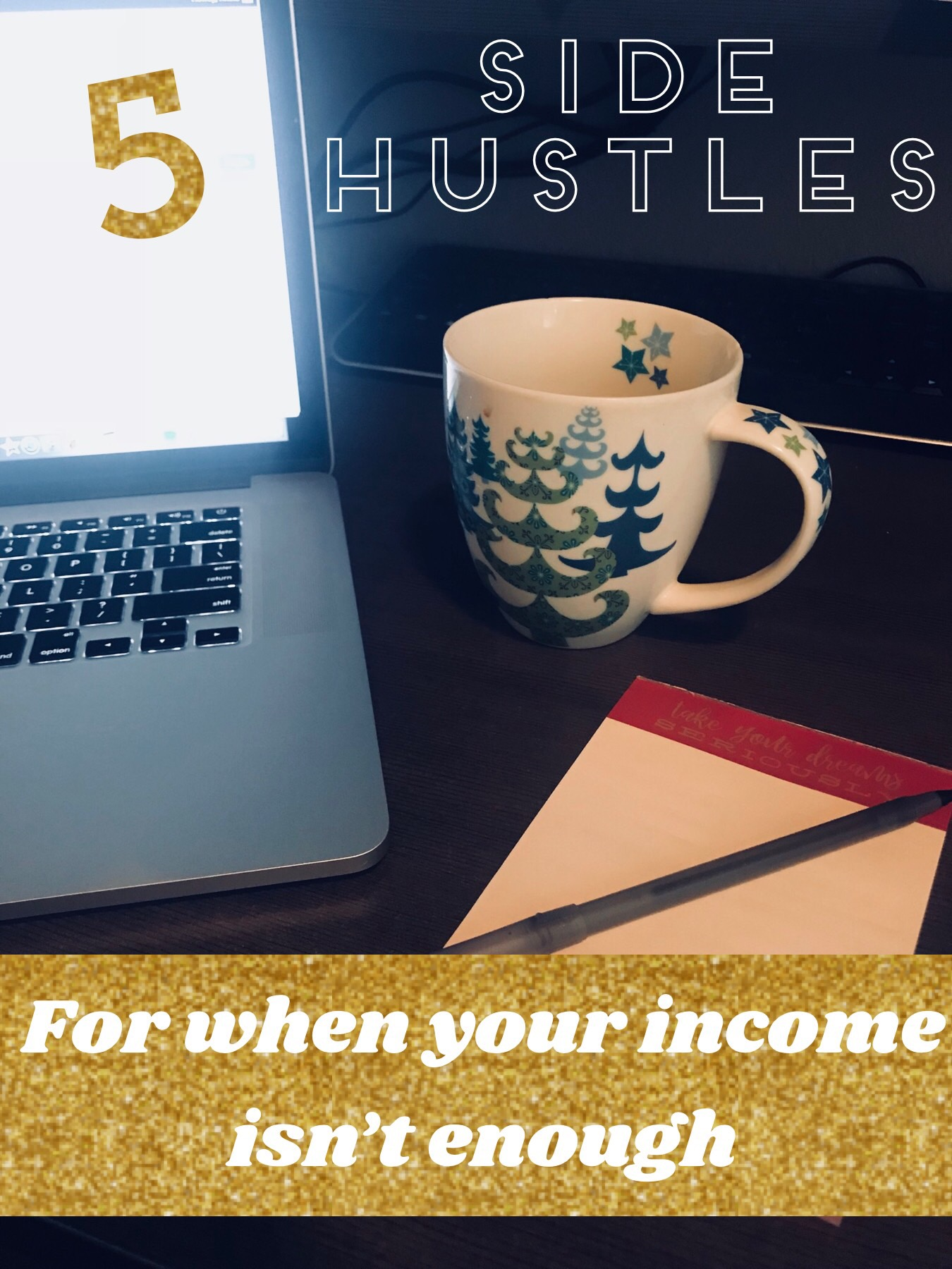 5 side hustle ideas when your income isn't enough