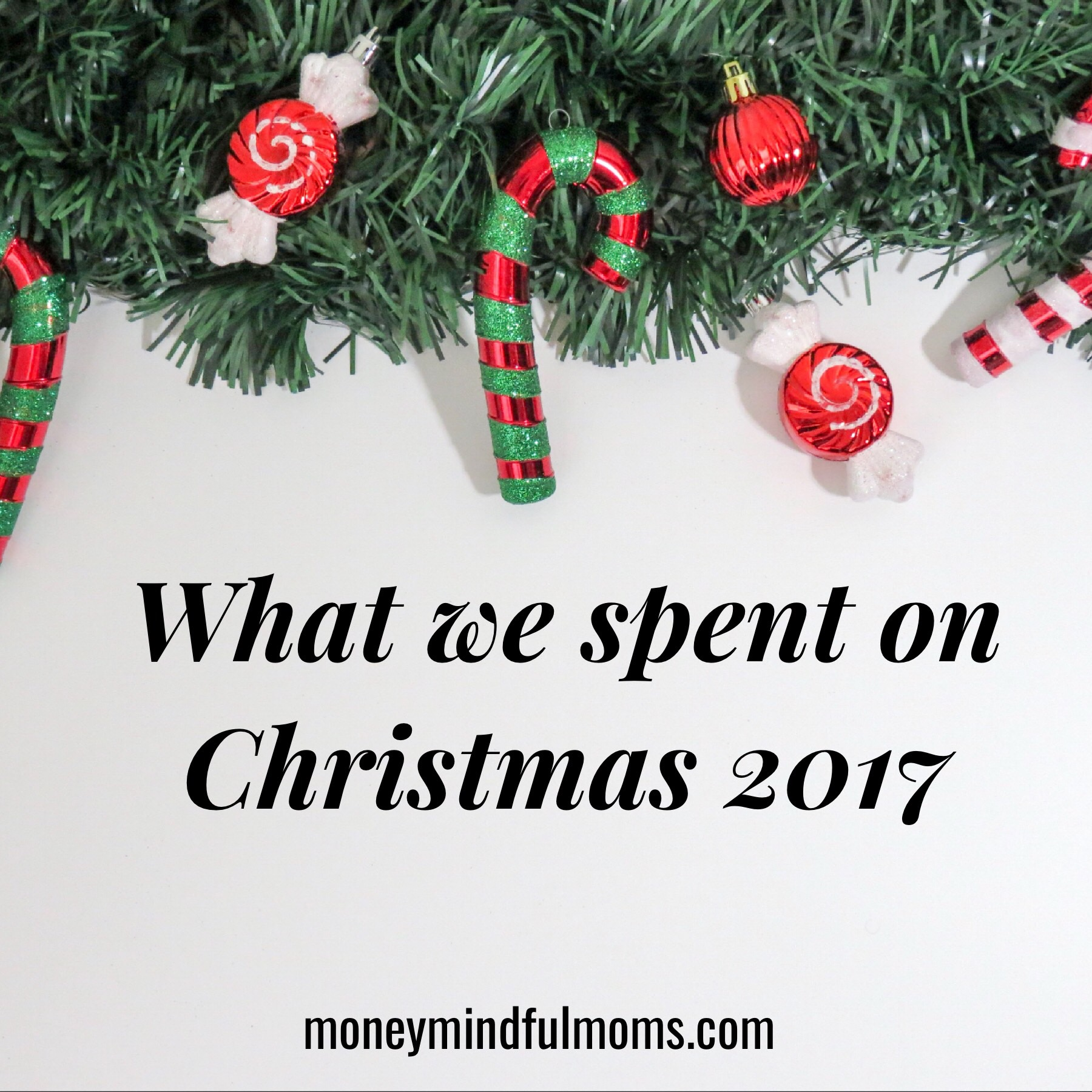 What we spent on Christmas this year