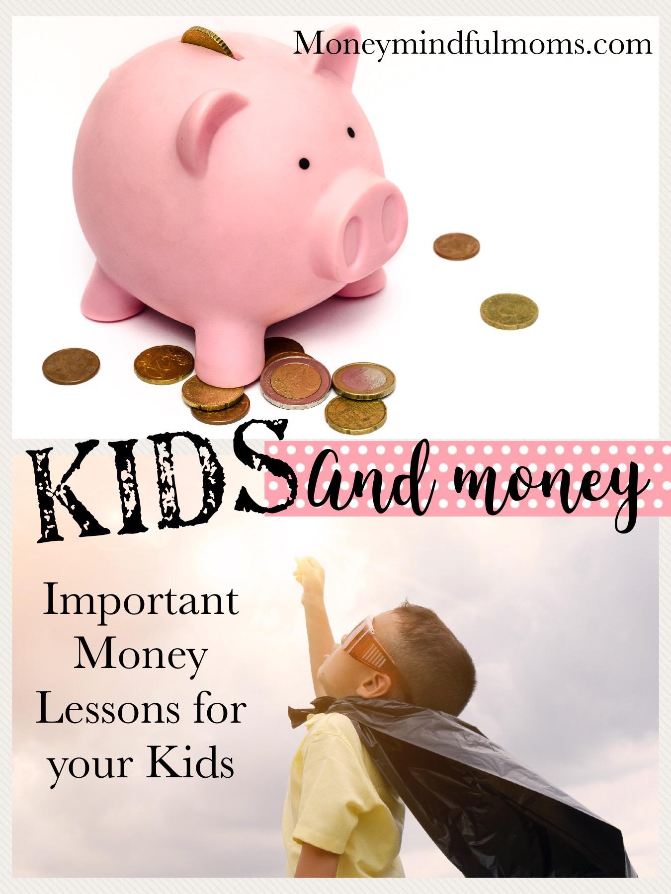 Teaching your kids good money habits