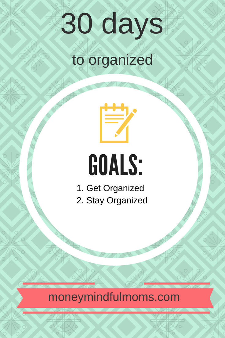 30 Days to Organized Challenge