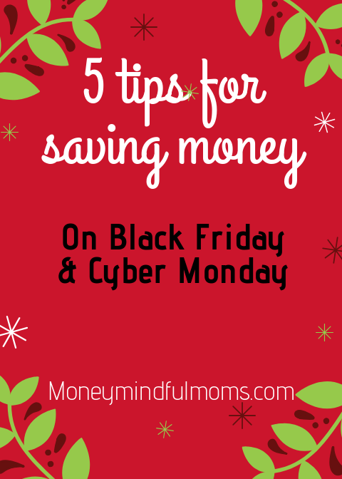 5 tips to save you money on Black Friday/Cyber Monday